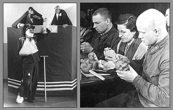 Для фронтовых кукольных представлений писали пьесы видные советские литераторы, драматурги, журналисты.